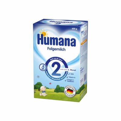 Humana Folgemilch 2 no 6...