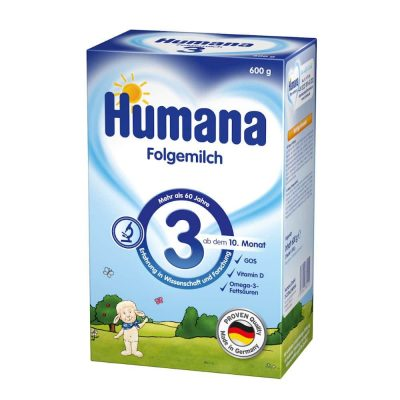 Humana Folgemilch 3 600g