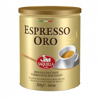 SAQUELLA Espresso ORO malta kafija 250g