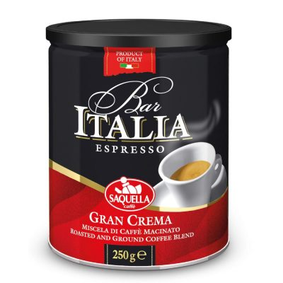 SAQUELLA malta kafija, Bar Italia...