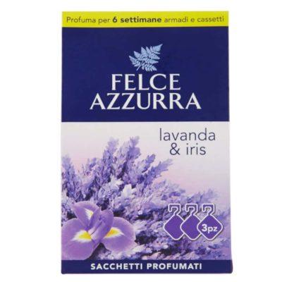 Felce Azzurra smaržīgie spilventiņi Lavander & Iris, 3 gab.