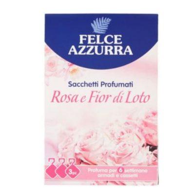 Felce Azzurra smaržīgie spilventiņi Rose & Lotos, 3 gab.