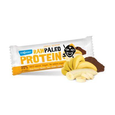 MAX SPORT RAW PALEO PROTEINA batoniņš ar banāniem 50g