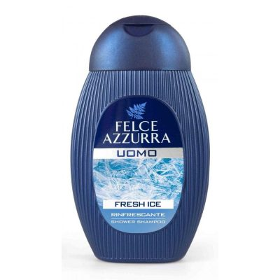 Felce Azzurra dušas želeja, šampūns vīriešiem FRESH ICE, 250ml