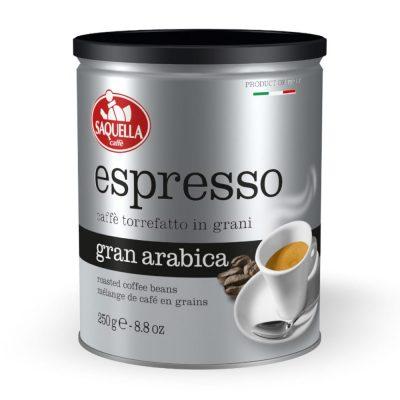 Saquella Espresso Gran Arabica grauzdētas...