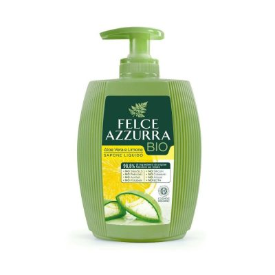 FELCE AZZURRA BIO Šķidrās ziepes Aloe Vera & Lemon, 300 ml