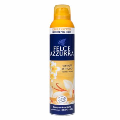 Felce Azzurra gaisa atsvaidzinātājs Vanilla & Monoi aerosols 250ml