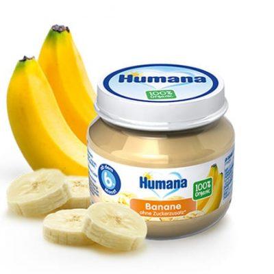 Humana BIO Banānu biezenis 80g